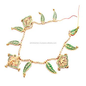 Attire fashions Metal Decorative Bandarwal Toran Door Hangings  sc 1 st  Alibaba & Attire Fashions Metal Decorative Bandarwal Toran Door Hangings - Buy ...