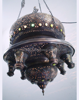 Br156 Antique Style Ic Hanging Light Fixture Chandelier