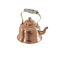 Solid Copper Tea Kettle with Ceramic, 1.5L