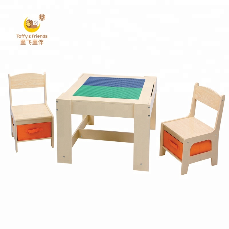 Wondrous Toffy Friendswater Paint Natural Color Kids Wooden Lego Play Table Chairs Set Buy Children Drawing Table Kids Play Table Lego Play Table Product Pdpeps Interior Chair Design Pdpepsorg