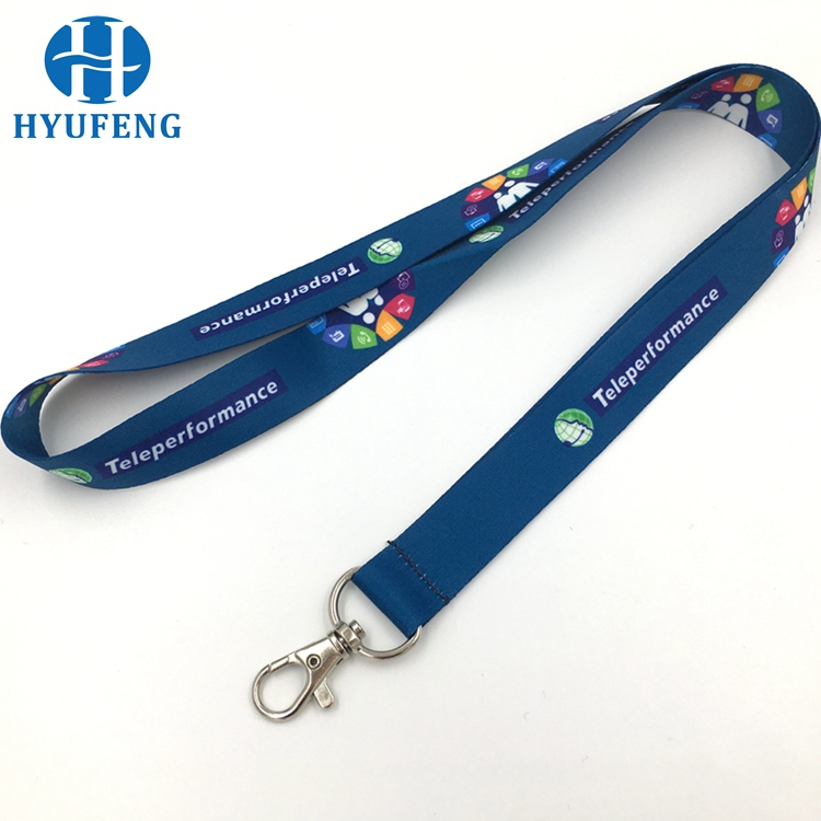 New Eco-friendly Exhibition Dye Sublimation Printed Lanyard