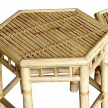 Decorate Living Room With High Quality Wooden Bamboo Chairs And