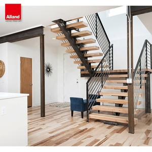 The Staircase For Small House Design Open Staircase Wooden Stairway