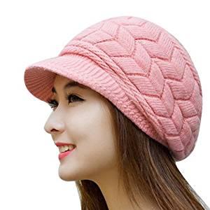 Get Quotations · Miki Da Winter Beanies Knit Women s Hat Winter Hats For Women  Ladies Beanie Girls Skullies Caps e8309e6a5e56