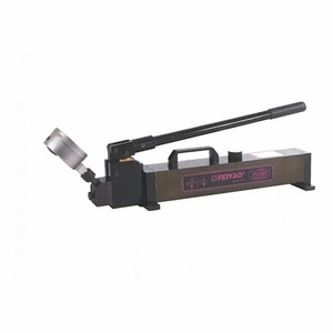 2000 Bar 2 stage p-2000/1 china high quality ultra high pressure hydraulic hand pump