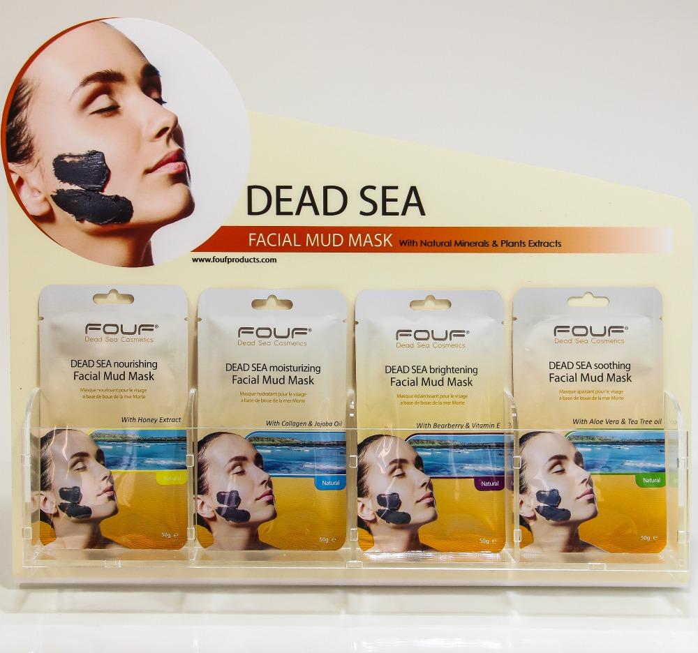 Facial mud masks