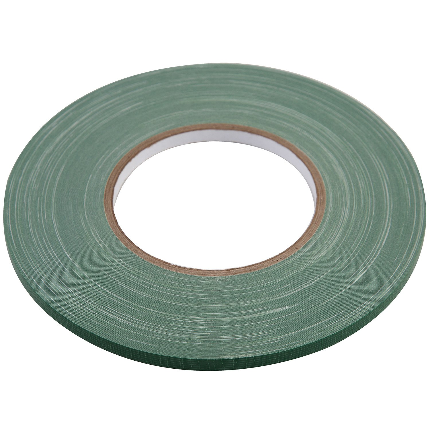 "Floral Tape Green, Flower Wrap Adhesive Waterproof Tape for Bouquets by Royal Imports 0.25"" - 1 Roll"