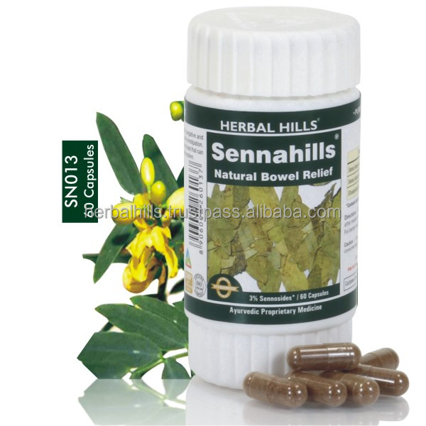 Natural Senna leaves cassia angustifolia tablets for bowel cleanser & Detoxification