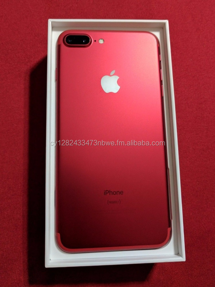 A Delivery Newest for Apple original RED COLOR phone unlocked Phone 7 & 7 plus 6s 6 64GB 32GB