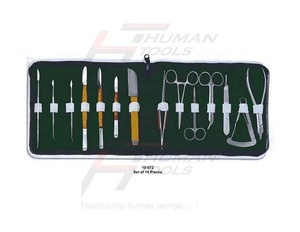 Dental laboratory sets 14 pieces dental instruments set