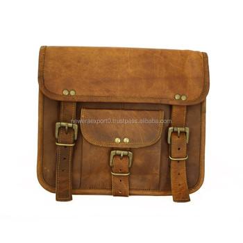 fddbd173fbf Custom Schoudertas Lederen Kleine Tas Vintage Lederen Tas voor Mannen &  Vrouwen
