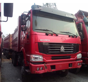 Cheap used 30-50ton Howo dump truck for sale, used Howo dump trucks/ Dumpers/ Tippers