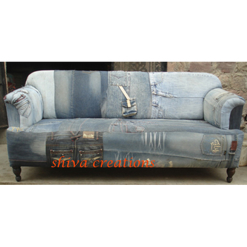 Antique Vintage Old Jeans Sofa   Buy Antique Vintage Old Jeans Sofa,Leather  Sofas Furniture For Sale From India,Grain Sack Sofas Product On ...