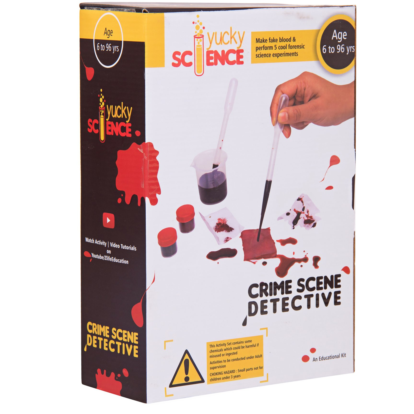 Buy Kids Detective Finger Print Kit Crime Mystery Solving 7 Piece Set In Cheap Price On M Alibaba Com