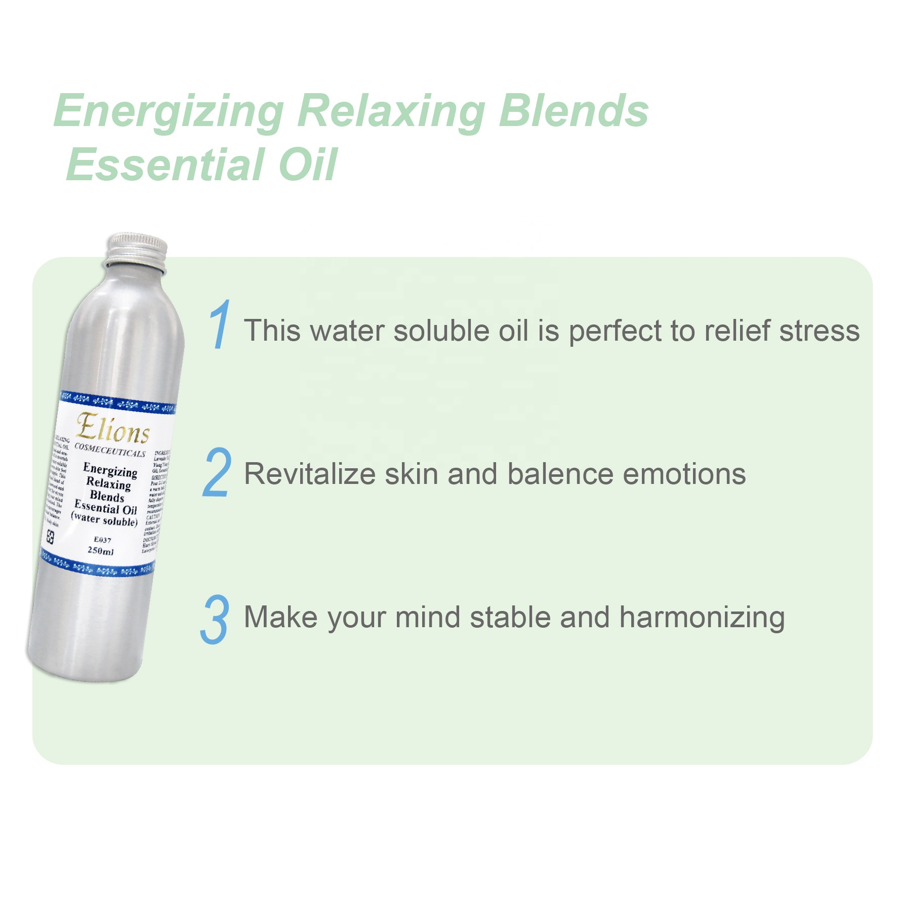 Lavendel Anti Stress Blends Wateroplosbare Essentiële Oliën