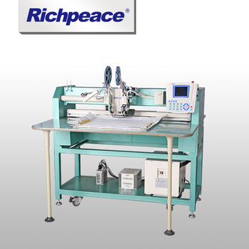 Speed 700pcs per minute Richpeace Computerized Sequin Motiff Machine