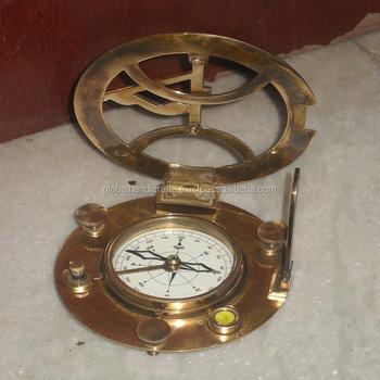 43cca40a43f0 Náutico Antiguo Brújula Reloj Reproducción - Buy Reloj De Sol ...