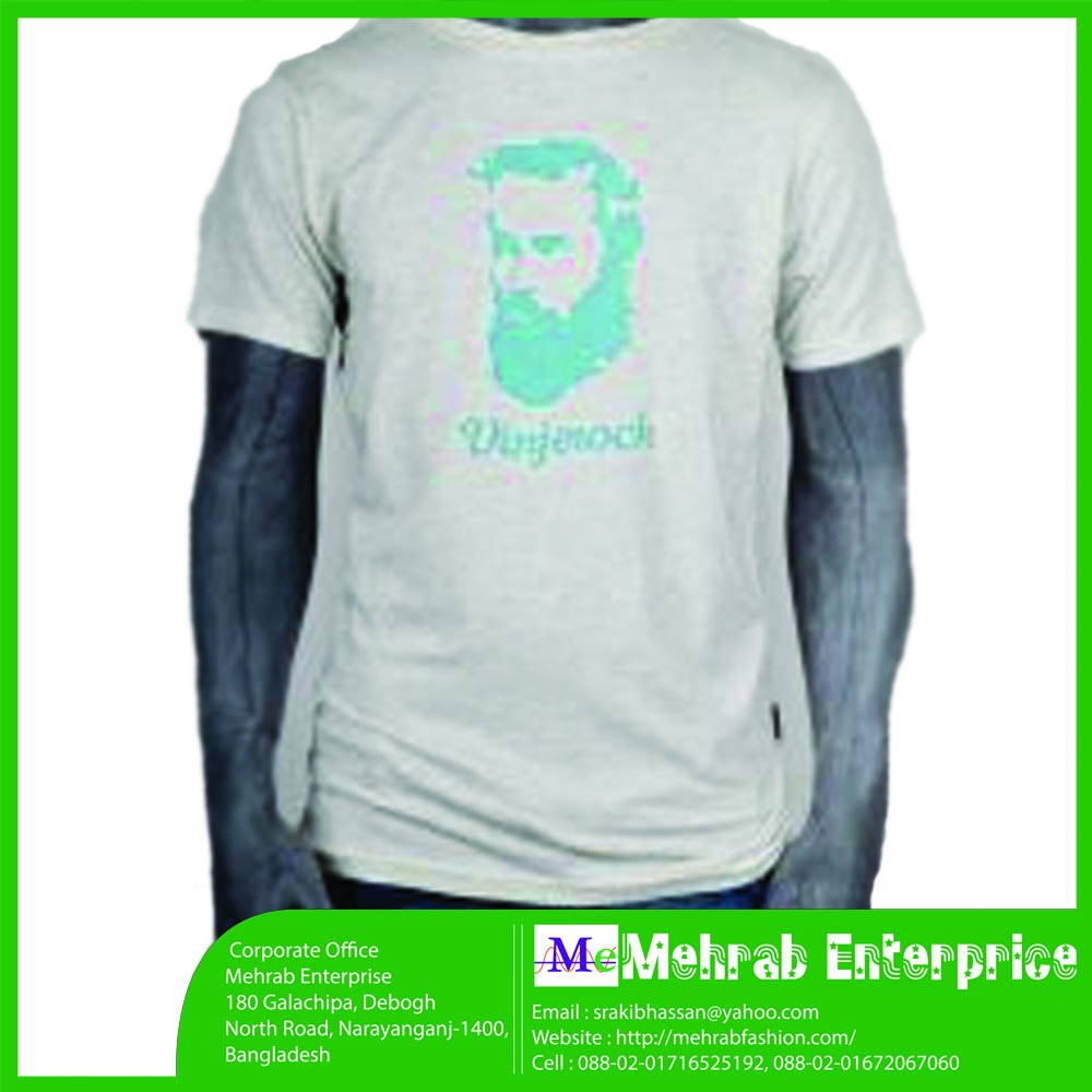 Customized Promotional Printed Tshirt Brand Logo Cheap T Shirt For