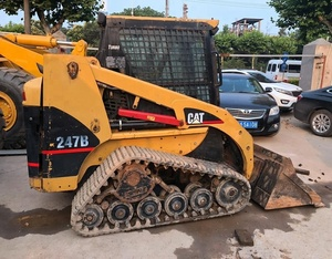 Good quality used Cat skid steer loader 247B for sale/ cat loader with low price