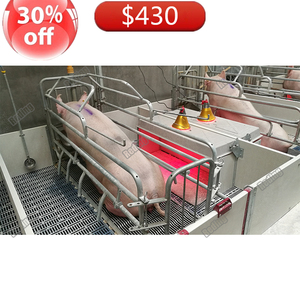 Comfortable safe house for sows and piglets customized pig farrowing