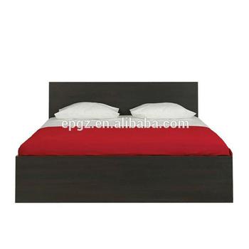 Black Mdf Melamine Board Luxury Royal Bedroom Furniture Luxurious King Sets Of Bed