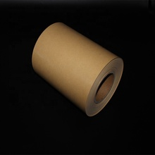 Double Side Kraft Bruin PE Coating Siliconen Gecoat Release Papier Liner Roll
