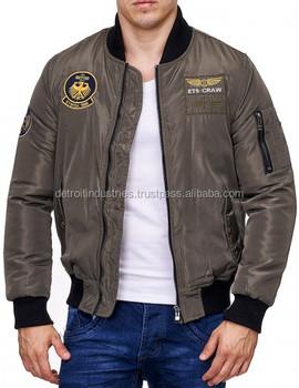 Flight Jacket Wholesale/ma-1 Air Force Pilot Flight Jacket/bomber ...