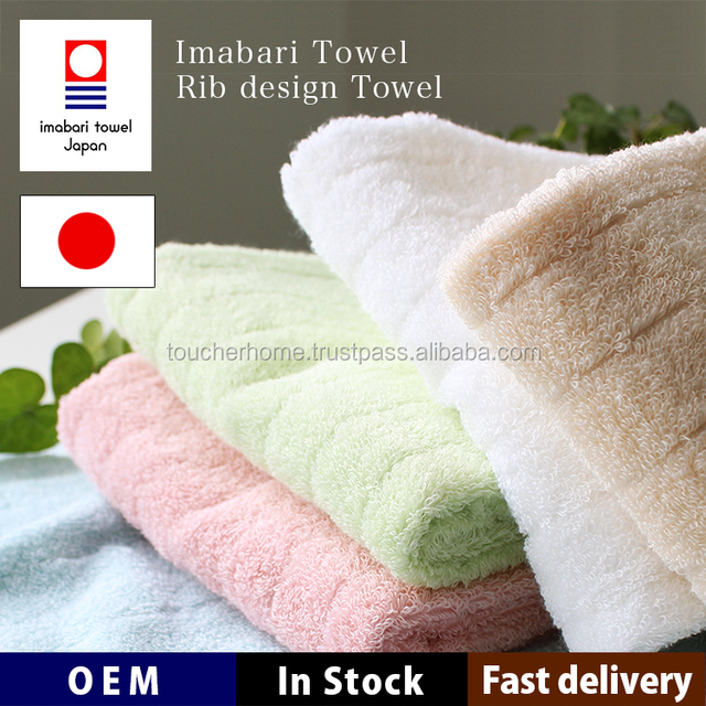 Imabari Towel Face Towel 100/% Cotton Plain Navy blue 5 Set Made In Japan