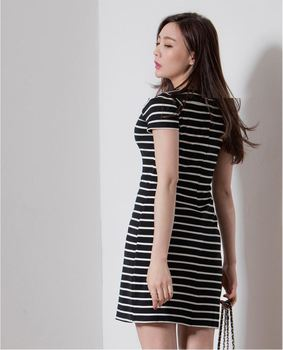 Korean Style Ladies Summer Fashion Women Casual Dress Day Cocktail