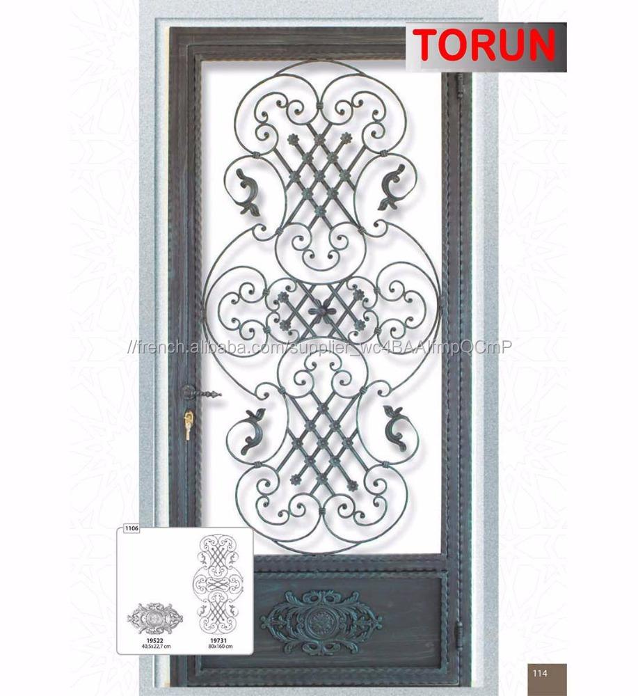 En Fer Forge Porte Simple Portes Id De Produit 600002346070 French Alibaba Com