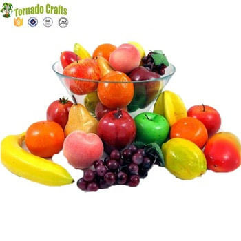 2017 Wholesale Artificial Fruits And Vegetables Plastic Material Fruit -  Buy Fruit And Vegetable Christmas Decoration,Plastic Toy Fruit