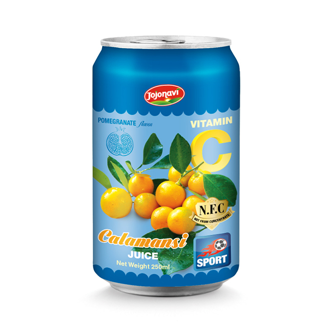 Calamansi juice with Pomegranate flavor Fruit juice wholesales for 330ml