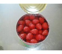 High quality canned fruit in syrup bulk frozen strawberry in can