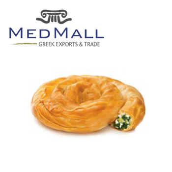 Individual Rolled Filo Pastry Pie with Spinach and Feta Cheese 180g