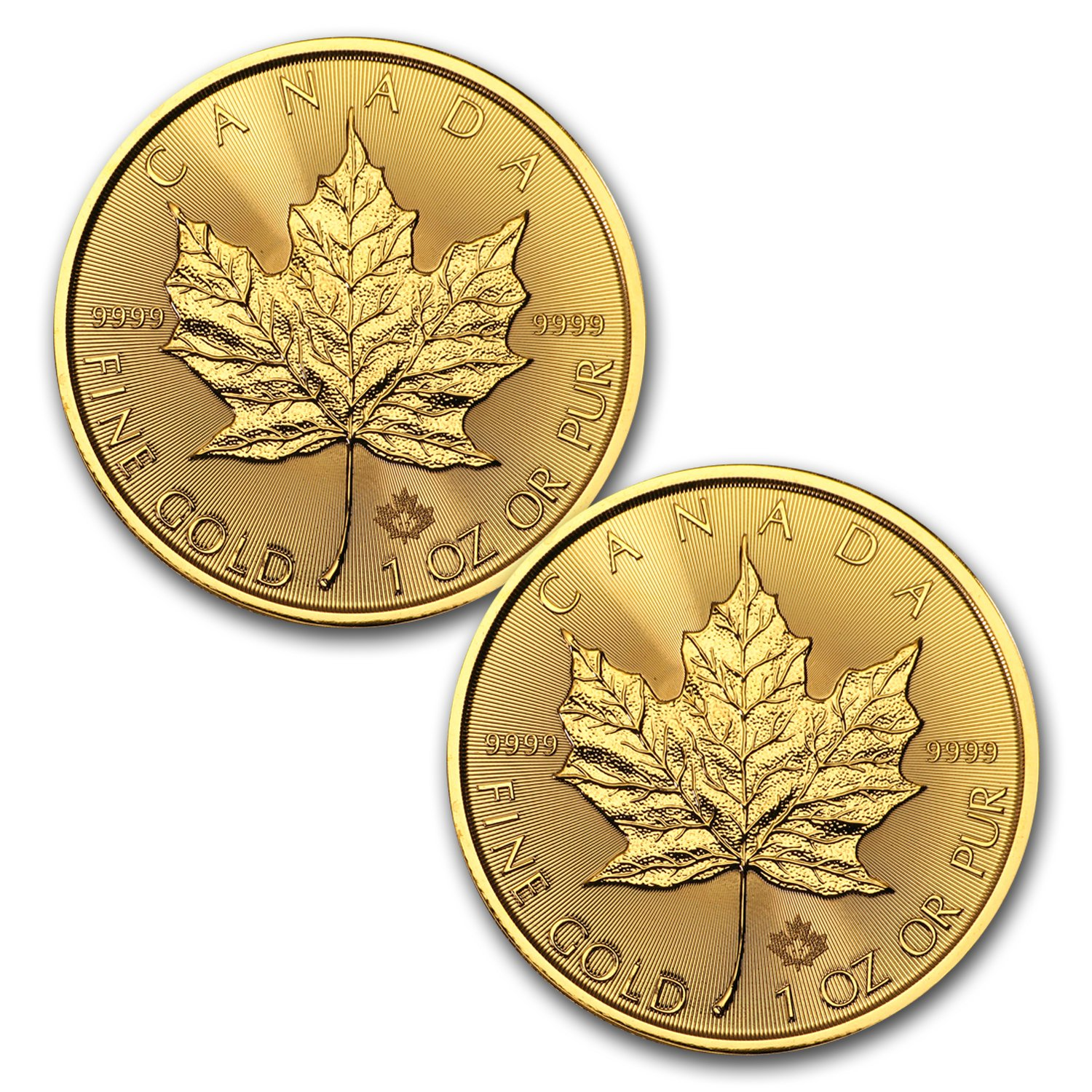 Air-tite 25mm White Ring Coin Holder Capsules for 1//2oz Gold Maple Leaf /& 3