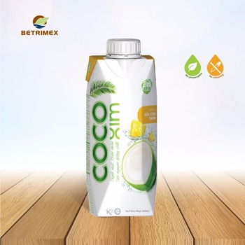 Coconut water with Pineapple Juice 330 ml.
