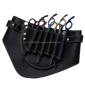 Barber Scissors Clips Bag Tool Salon Hairdressing Holster Pouch Holder Case Belt
