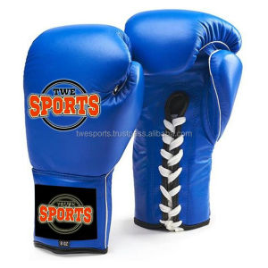 High quality artificial leather boxing gloves