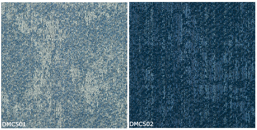 DMC-501 - DMC-502, Tajima Roofing DENIM FLOOR, 2 Colors Available, Made in Japan