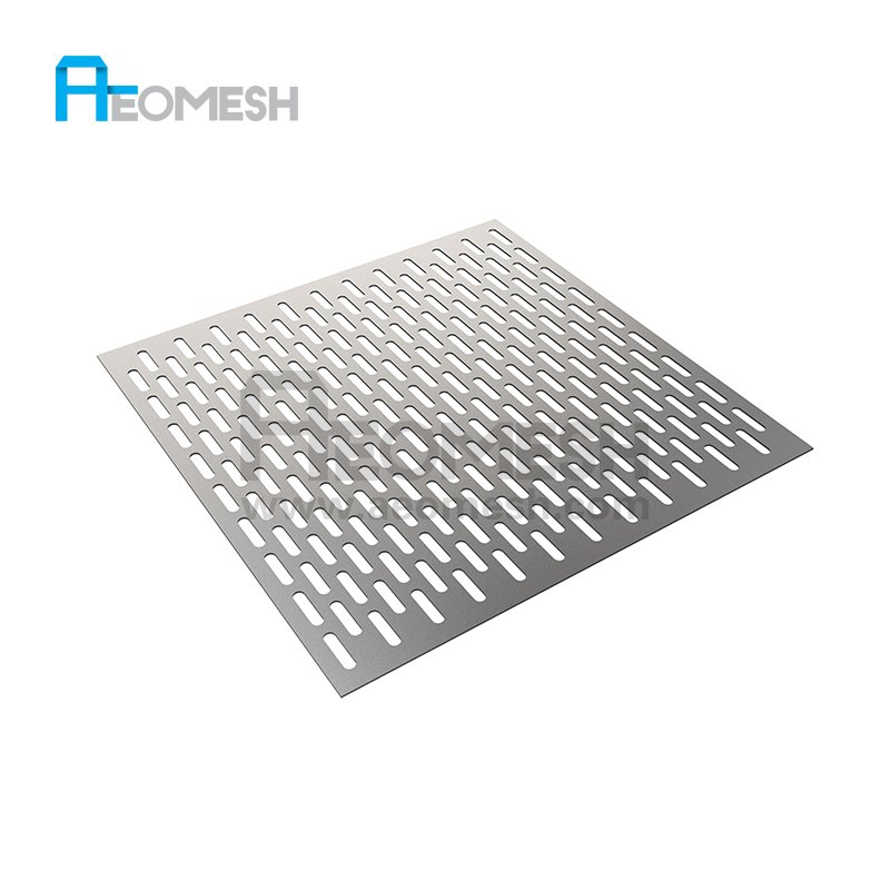 Guangzhou Fabriek geperforeerde aluminium of stalen metalen plaat mesh
