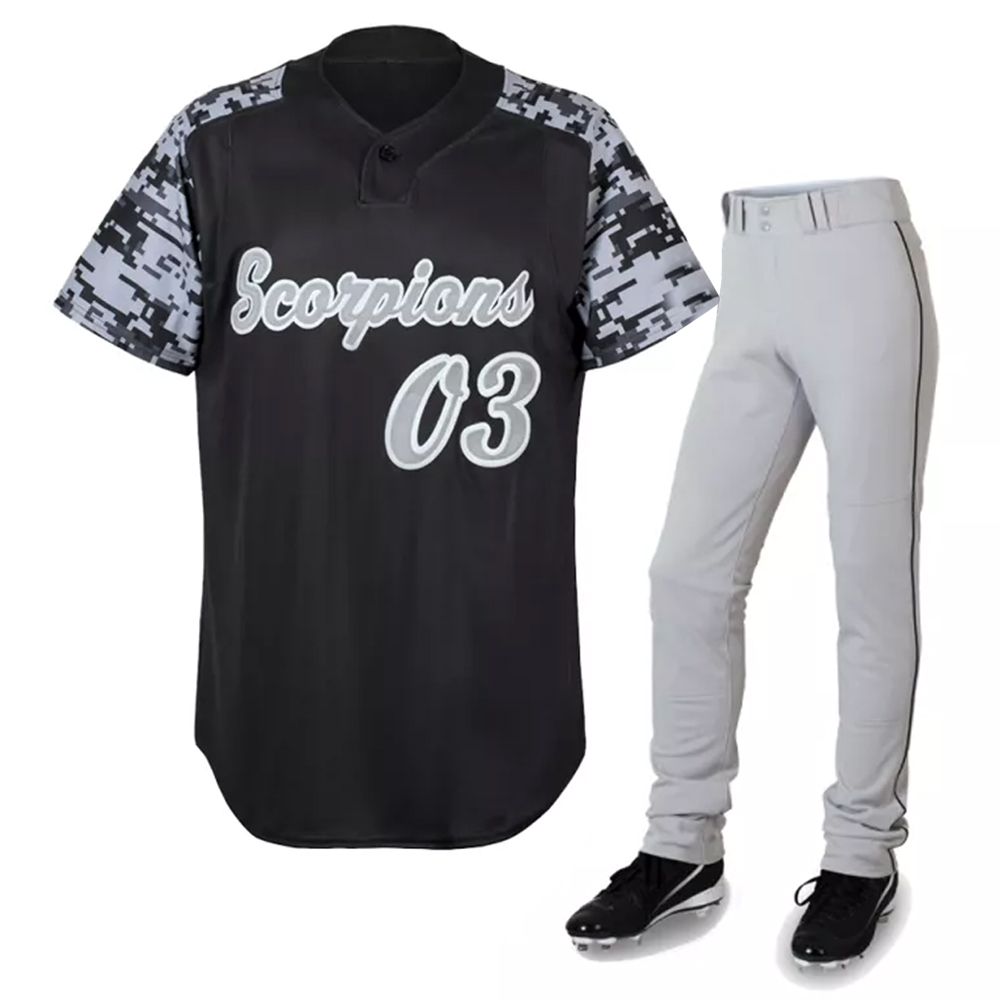 Top Kwaliteit Custom Sublimatie Baseball Uniform Shirts Groothandel Baseball Jersey