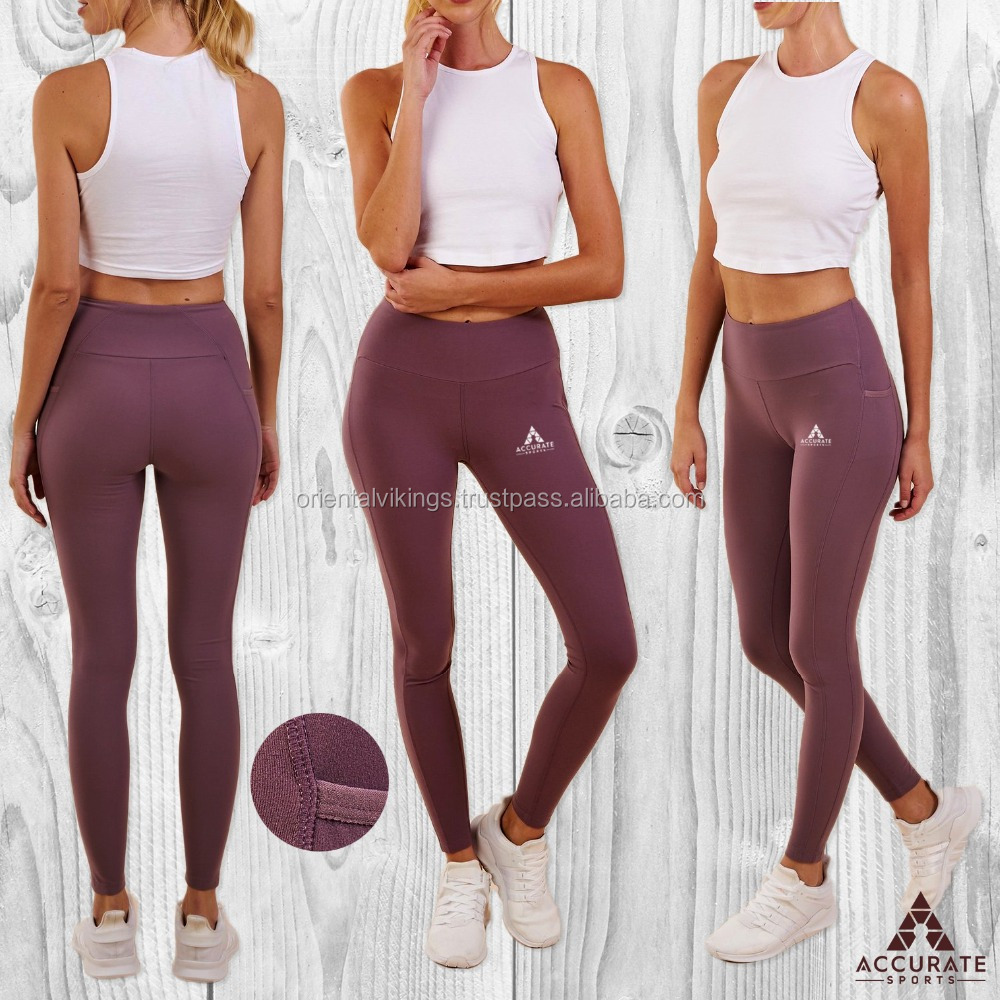 Sport Womens Compression Fitness Leggings Running Yoga Gym Sports Wear
