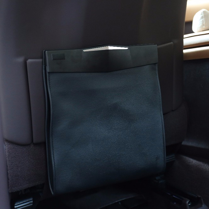 High Quality Hanging Car Trash Can Bin Bag Accessories Interior For Back Seat Auto Product On