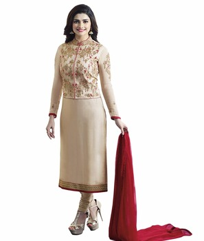 bbd3a4dd3 2017 Ladies Party Wear Salwar Kameez   Semi-Stitched Koti Style Salwar Suits  2017(