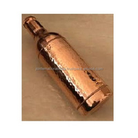 Handmade 100 % Pure Copper Water Bottle