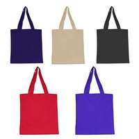 "Pakistan Supplier 15"" x 16"" 6 OZ Cotton Canvas Tote Bag For Promotion, Giveaways"