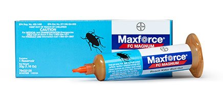 33 gram Tube Maxforce Magnum & 30 gram Tube Advion Cockroach Roach Control Bait Gel ~~ The 2 best Roach bait Products on the Market!! Kill German, American, Australian, Smoky-Brown, Brown, Asian, and Brown-Banded species of cockroaches