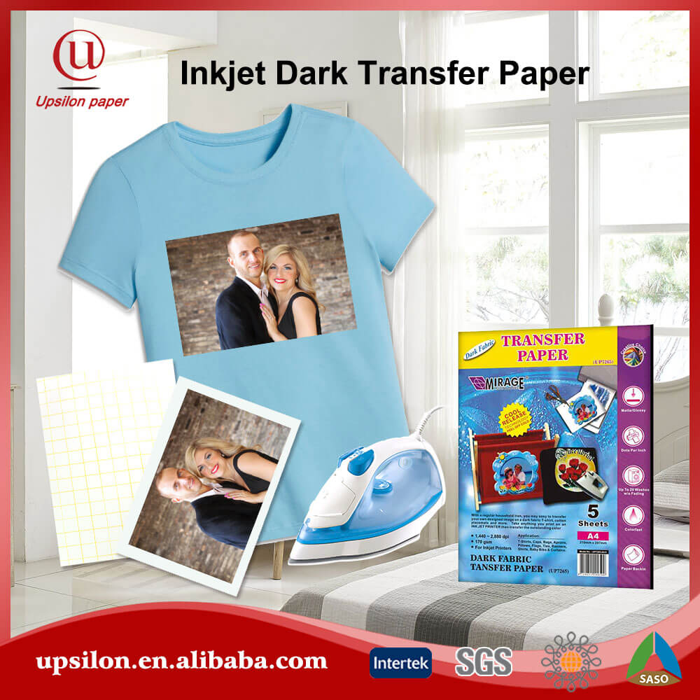 Diy Use A4 Dark Cloth Haet Transfer Paper Game