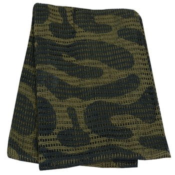 Military Sniper Veil - Tactical Camouflage Scrim Net Face Scarf Wrap - 100%  Cotton - 48