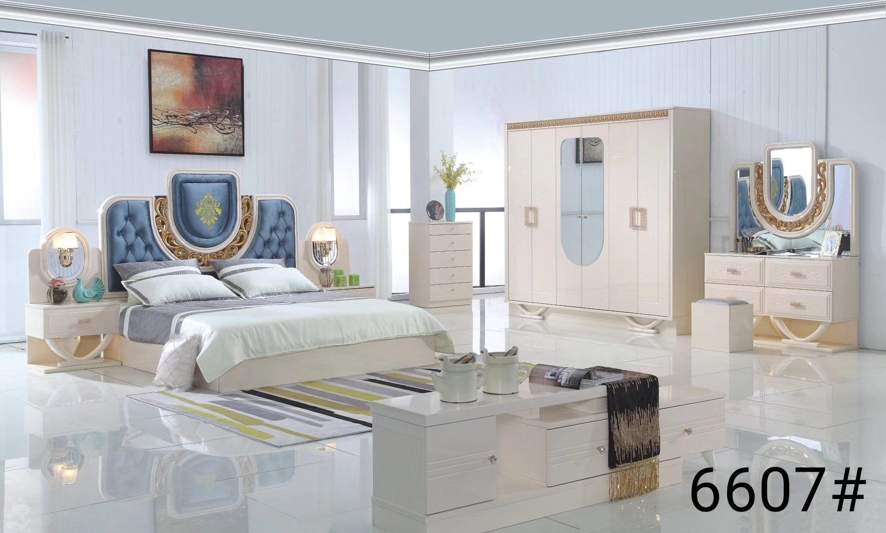 Factory Wholesale Modern Turkey Luxury Royal Bedroom Set Home Use High Gloss Plywood Turkish Bedroom Furniture Buy Turkish Bedroom Furnituremodern